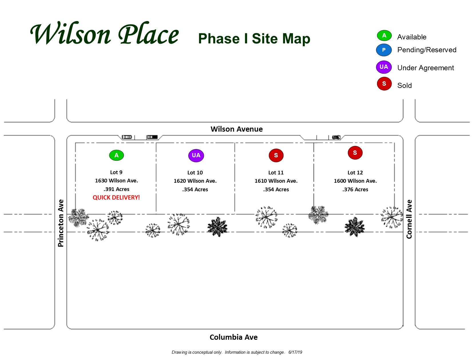 Wilson Place- Phase I Site Plan